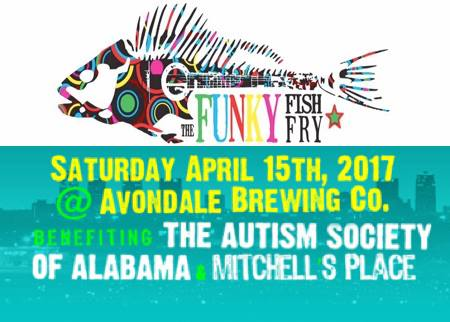 The Funky Fish Fry Logo