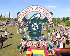 Party at the Parks Railroad Park