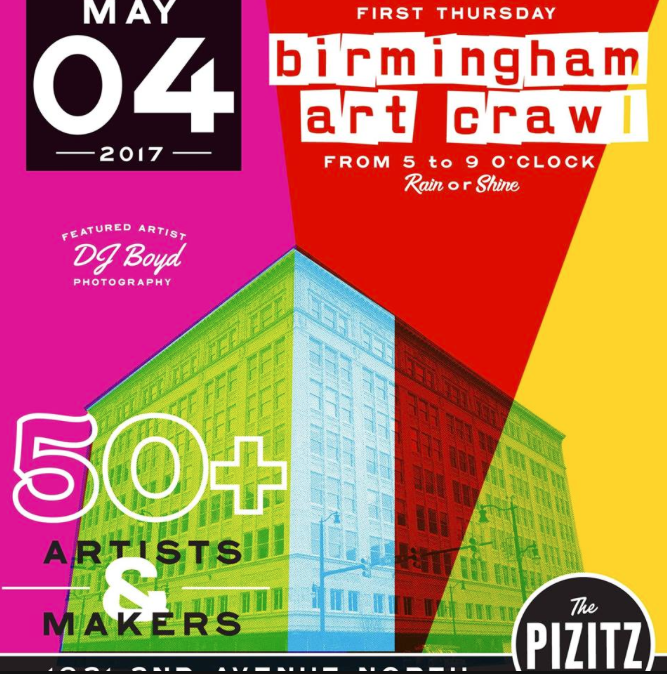 May the 4th Birmingham Art Crawl
