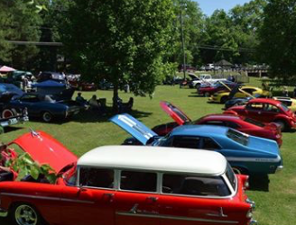 Classic Car Show Outdoors