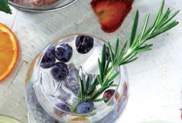 Fresh Cocktail with Fruit
