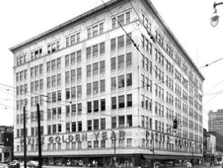 Vintage Pizitz Building