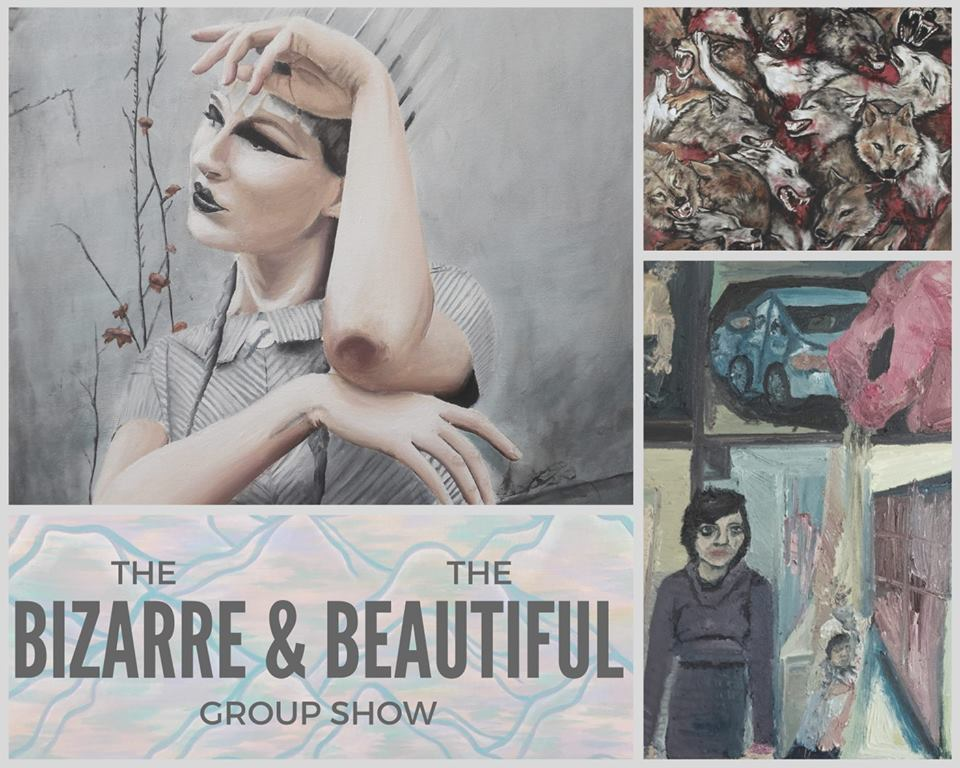 Claire Godbee curated art show