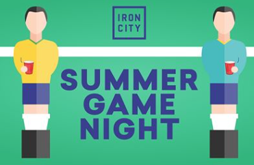 Summer Game Night Foosball