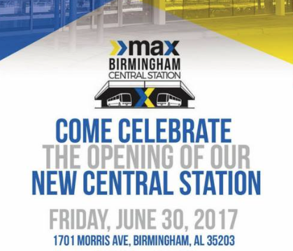 MAX Transit Birmingham Ribbon Cutting