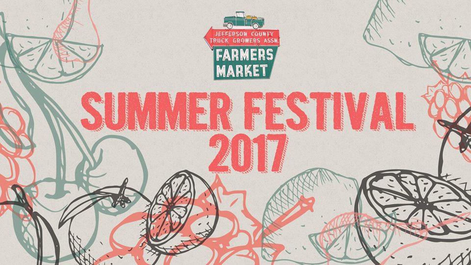 Farmers Market Summer Festival