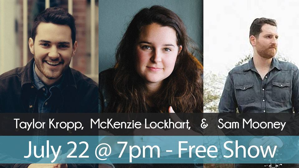 Taylor Kropp, McKenzie Lockhart, Sam Moony