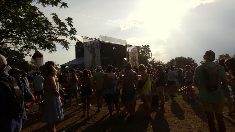 Late Afternoon Heat at Sloss Fest