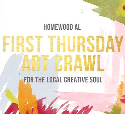 July Homewood Art Crawl