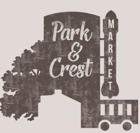 Park & Crest Market Logo