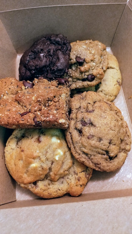 A Box Full of Cookie Fix Cookies!