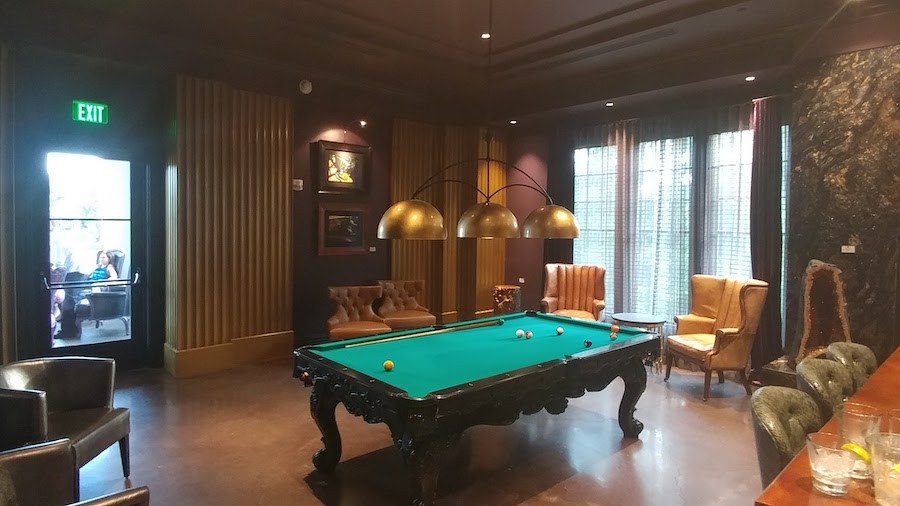 Relax in the Billiard Room at Habitat Feed & Social