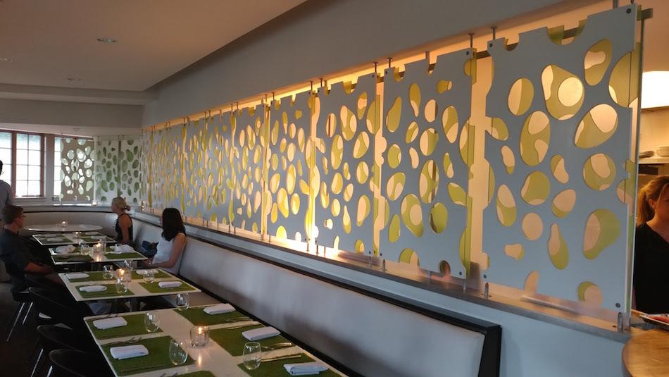 Interior view of Avo Restaurant in Mountain Brook
