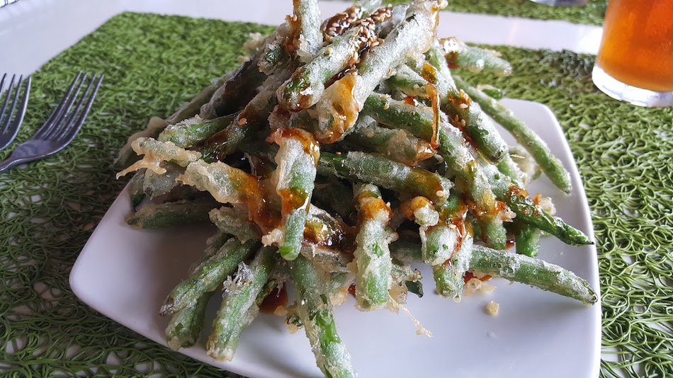 Tempua Verts Green Beans at Avo in Mountain Brook