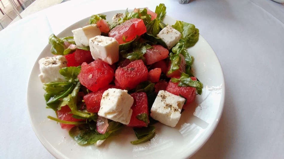 Cocina Superior Watermelon Salad for Birmingham Restaurant Week