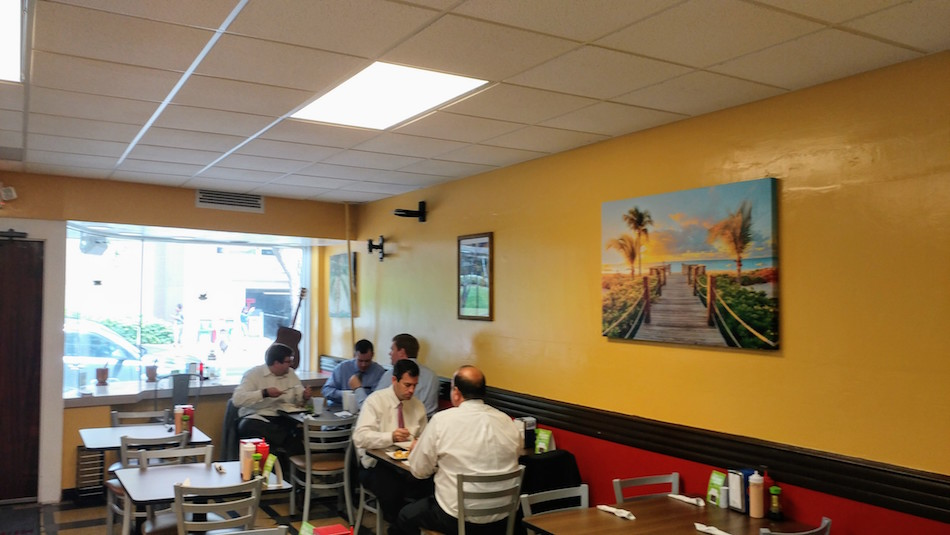 Interior of Miami Fusion Cafe