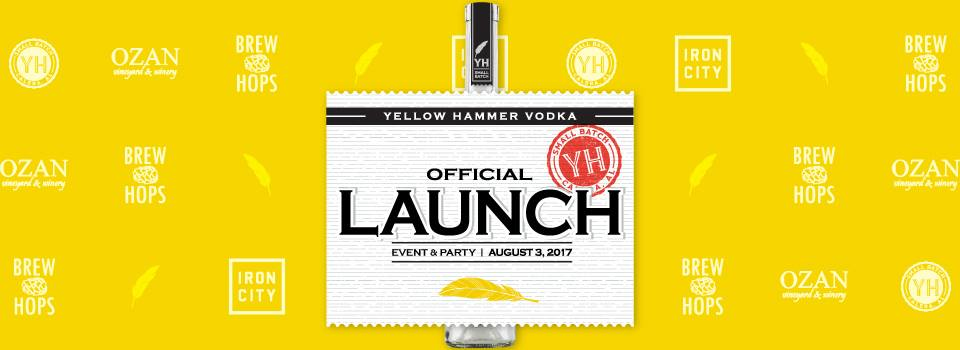 Yellow Hammer Vodka Launch Party