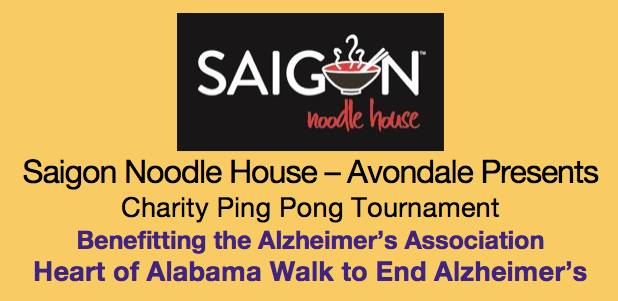 Saigon Noodle Ping Pong Tournament