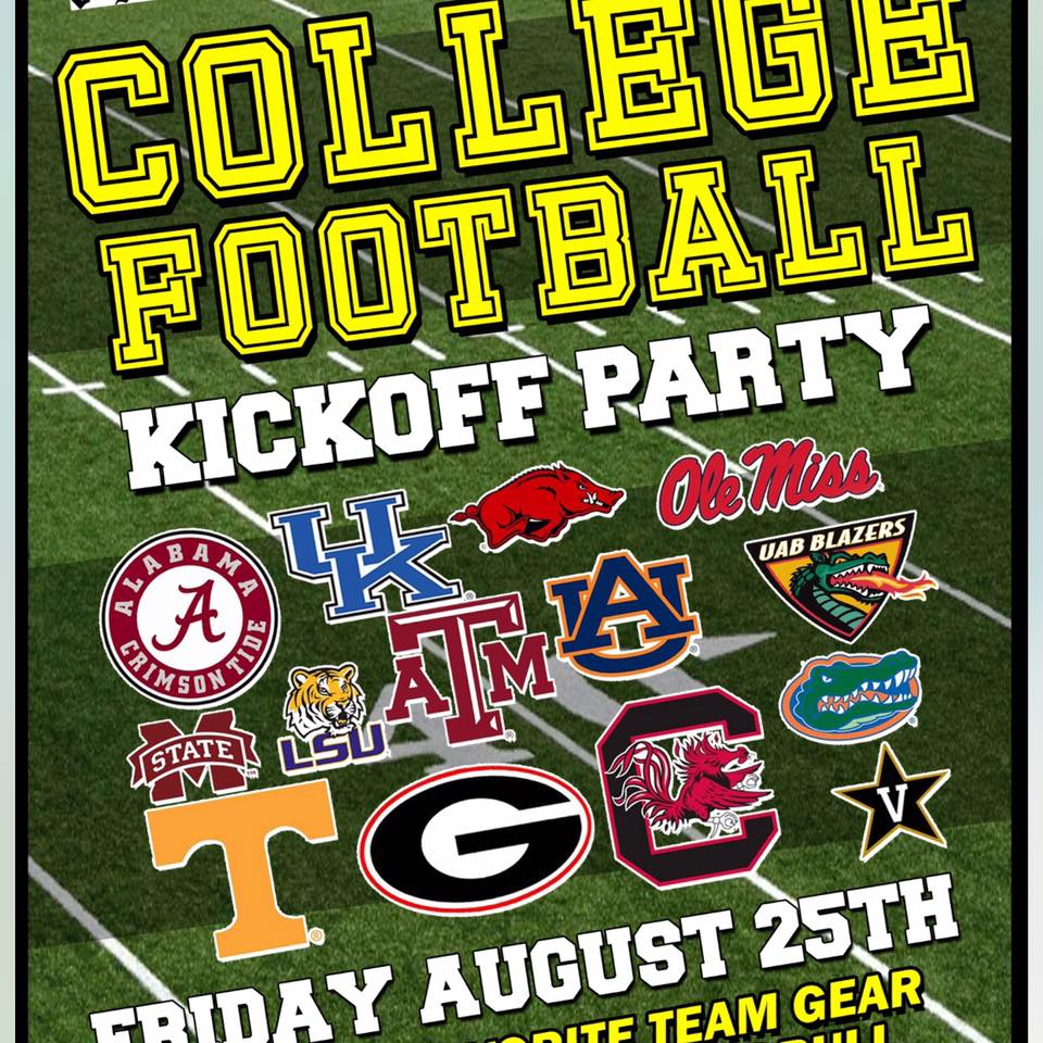 College Football Kickoff Party