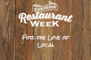 Birmingham Restaurant Week 2017