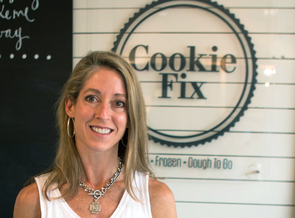 Amy Jason of Cookie Fix. photo: Homewood Star