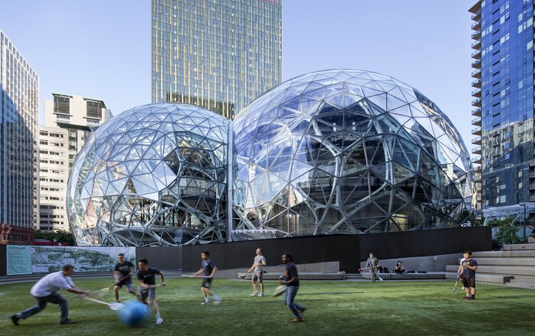 Amazon Headquarters in Seattle, WA