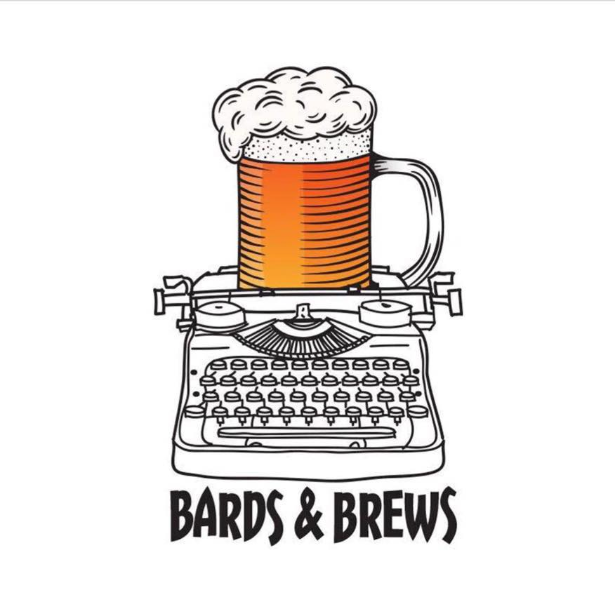 Bards and Brews Birmingham Beer on Typewriter