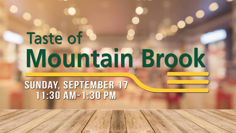 Taste of Mountain Brook 2017