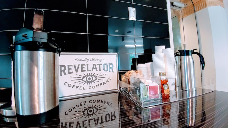 Revelator Coffee Station at Forge