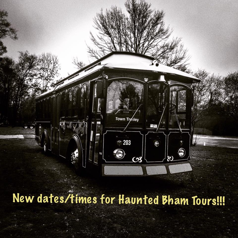 Haunted Trolley Tour Birmingham AL