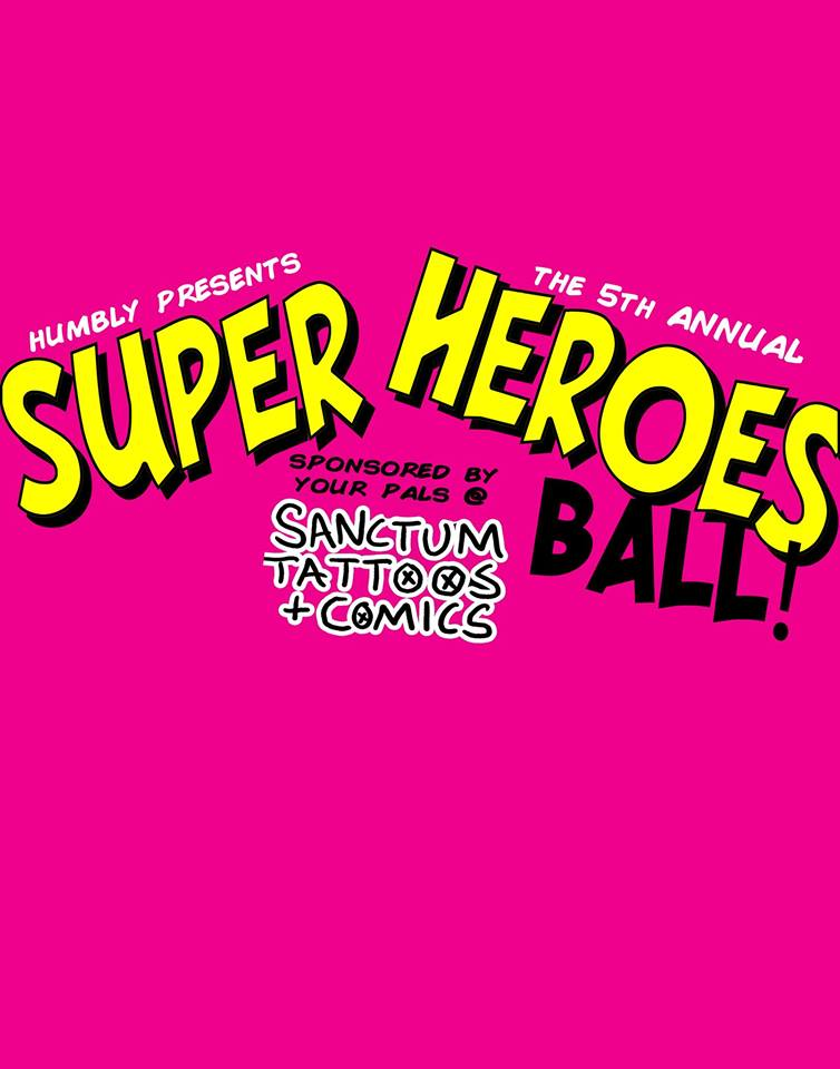 Super Heroes Ball at Black Market Bar & Grill