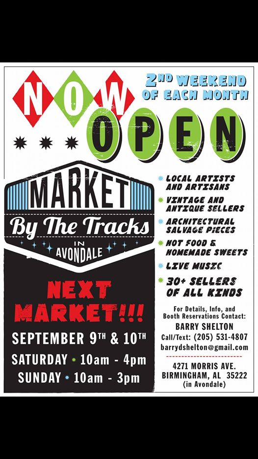 Market by the Tracks Avondale September Edition