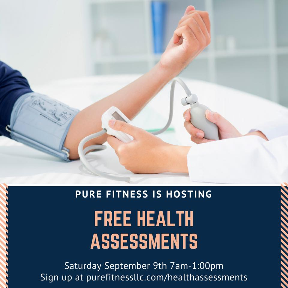 Pure Fitness Free Health Screening and Assessment