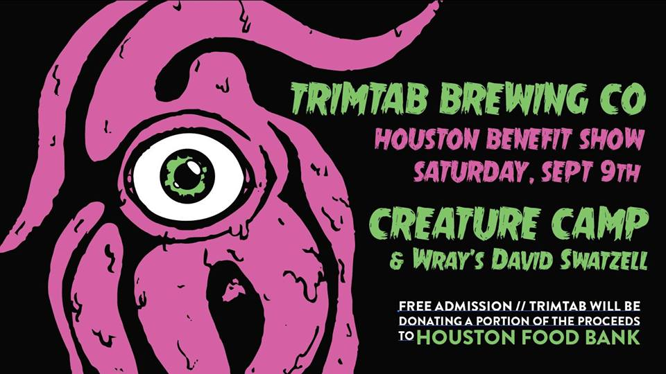 Houston Benefit with Creature Camp at TrimTab Brewing Co.