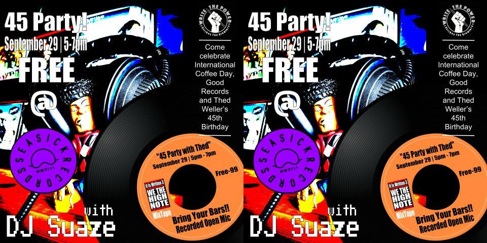 45 Party at Seasick Records