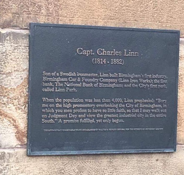 Capt.Charles Linn Gravesite