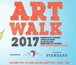 Birmingham ArtWalk 2017 Urban Standard