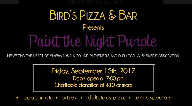Paint the Night PURPLE!