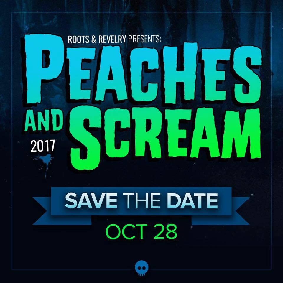 Peaches and Scream 2017