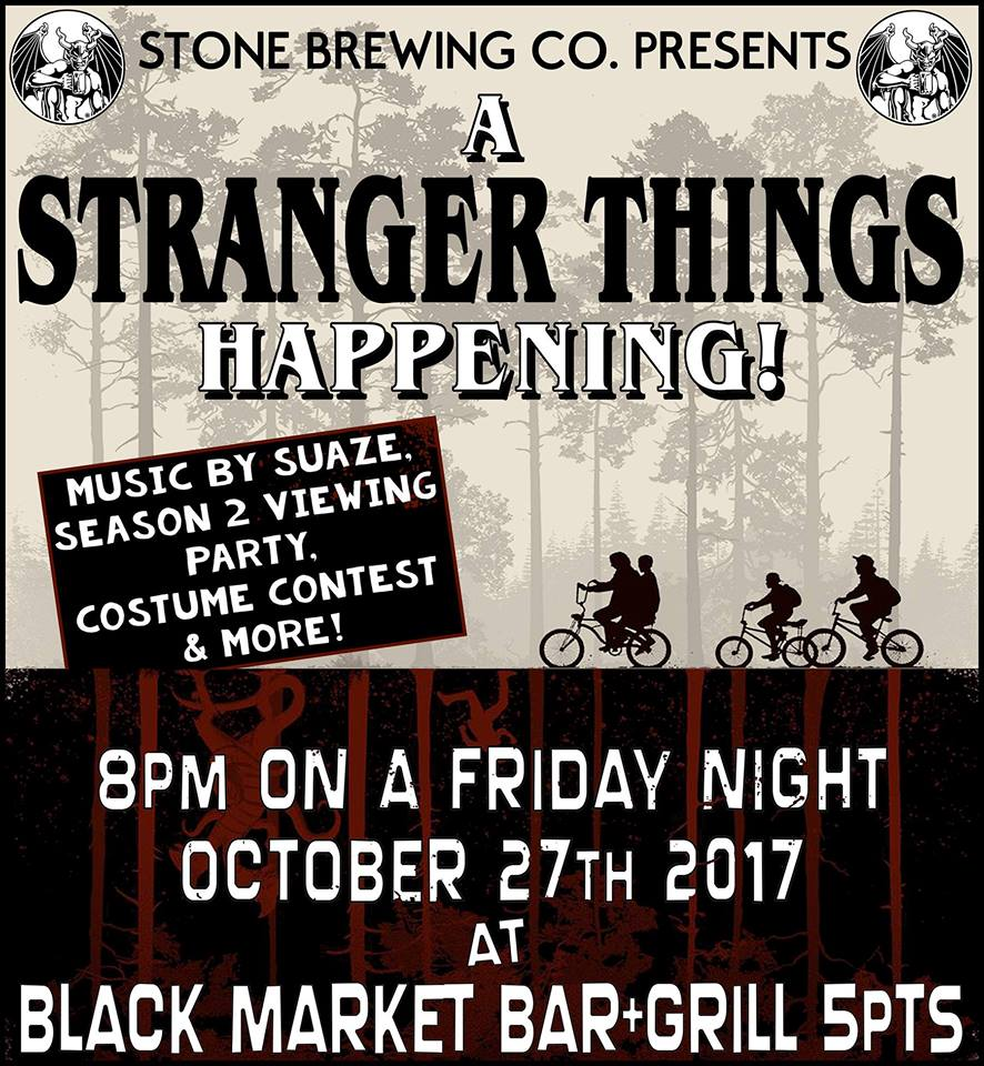 Stranger Things Party at BMB 5pts Birmingham