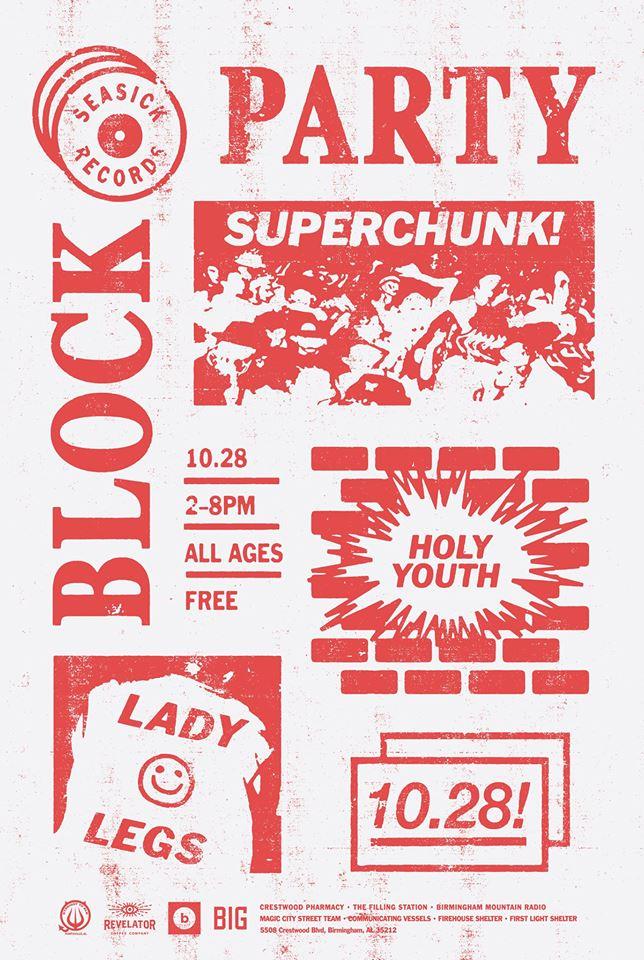 Seasick Records Block Party