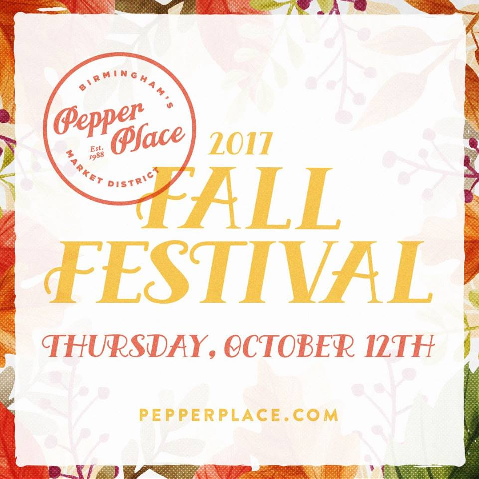 Pepper Place Fall Festival Birmingham