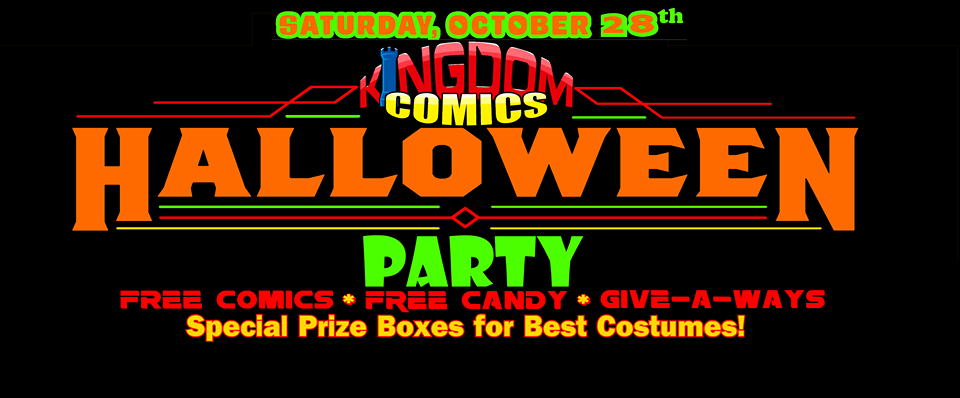 Kingdom Comics Halloween Party