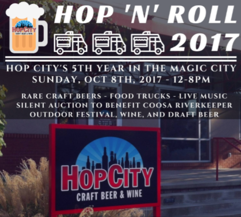 Hop n Roll at Hop City Birmingham