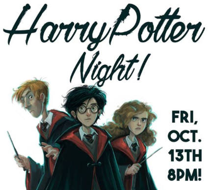 Harry Potter Night at Black Market Bar