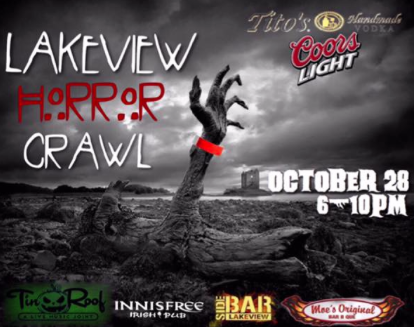 Lakeview Halloween Horror Crawl