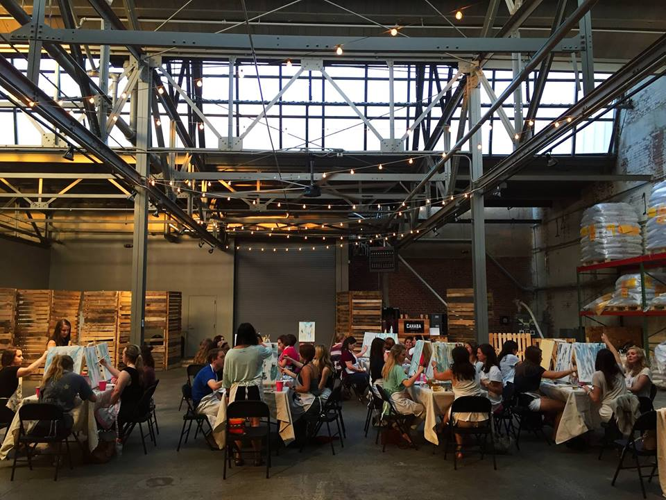 Pints & Paints at Cahaba Brewing Company