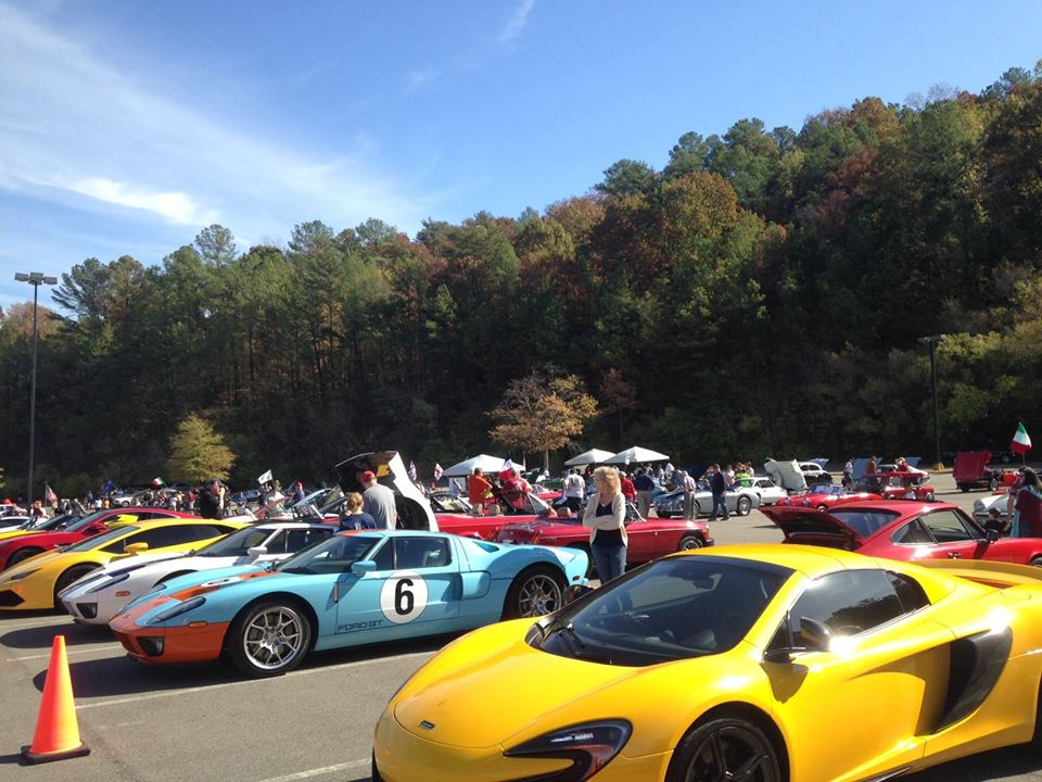 Sports Cars at Brookwood Village