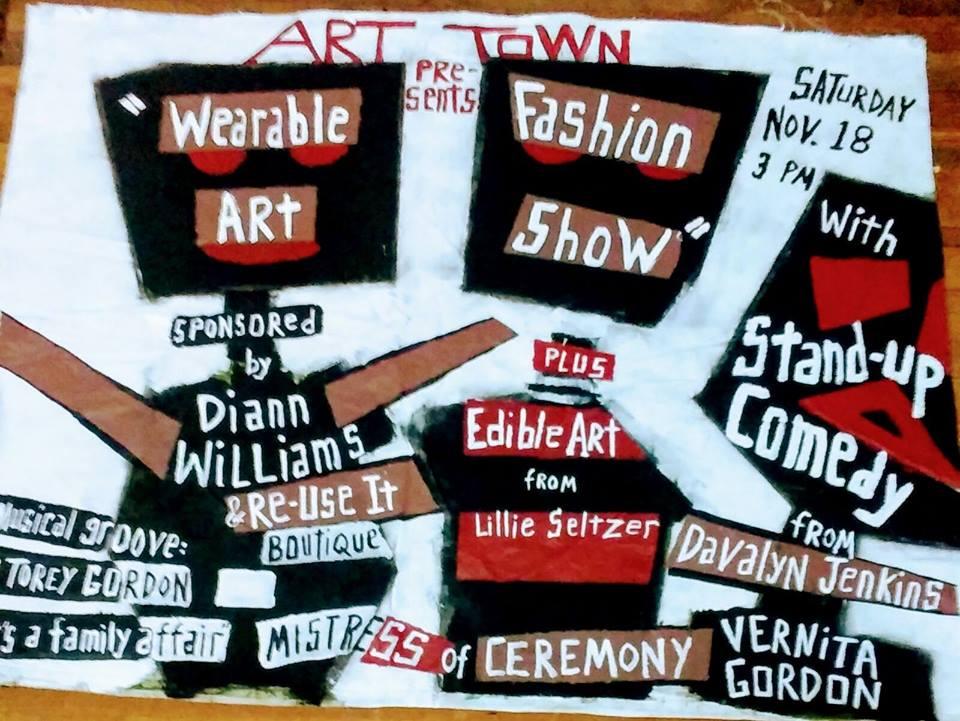 Wearable Art Fashion Show at Art Town