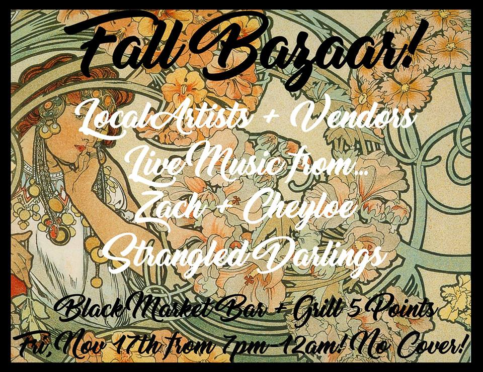 Fall Bazaar Black Market 5pts